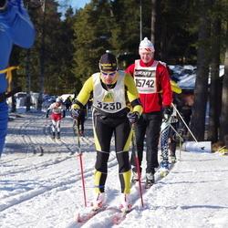 Skiing 90 km - Jan-Erik Svangärd (3230), Bengt Holmgren (15742)