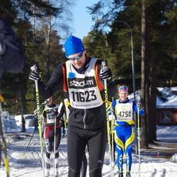 Skiing 90 km - Henrik Brandén (11623)