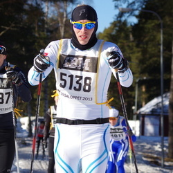 Skiing 90 km - Johan Myrman (5138), Anders Wadman (7587)