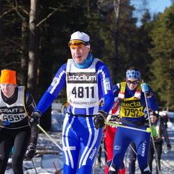 Skiing 90 km - Jean-Francois Gehin (4811), Ove Alenius (5599)