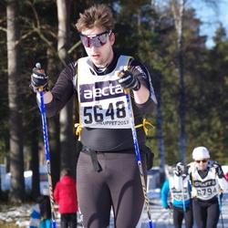 Skiing 90 km - Henrik Engström (5648)