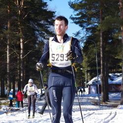 Skiing 90 km - Henrik Wåhlström (5293)