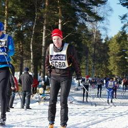 Skiing 90 km - Fredrik Byström (5680)