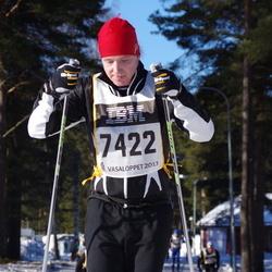 Skiing 90 km - Fredrik Husander (7422)