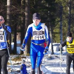 Skiing 90 km - Andreas Brännström (5420), Ola Ellbring (6214)