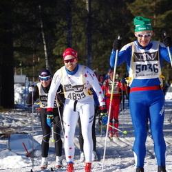 Skiing 90 km - Arild Fallan (4899), John Hansen (5036)