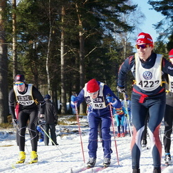 Skiing 90 km - Anders Olausson (4222)