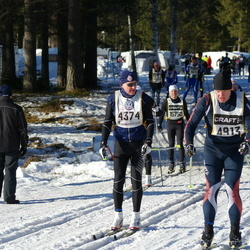 Skiing 90 km - Tor Villy Strøm (4374), Anders Ringström (4913)