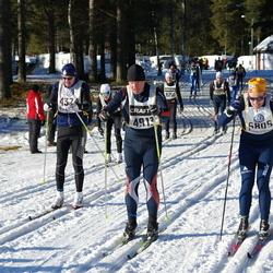 Skiing 90 km - Anders Ringström (4913), Anders Emil Asp (5805)