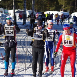 Skiing 90 km - Örjan Fägerblad (6410), Christian Elsebutangen (7824), Mikael Ericsson (11209)