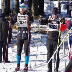 Skiing 90 km - Christian Elsebutangen (7824), Mikael Ericsson (11209)