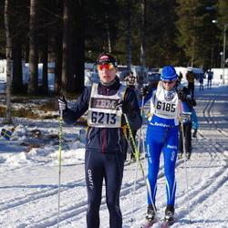 Skiing 90 km - Henrik Karlsson (6185), Viktor Tennström (6213)