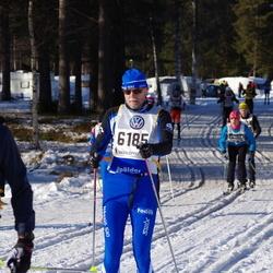 Skiing 90 km - Henrik Karlsson (6185)