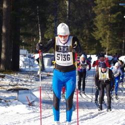 Skiing 90 km - Anders Waage (5136)