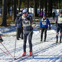 Skiing 90 km - Daniel Granvoll (11988)