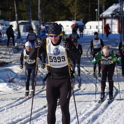 Skiing 90 km - Jens Barklund (5999)