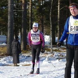 Skiing 90 km - Fredrik Unger (6405), Jan Raudsepp (11979)