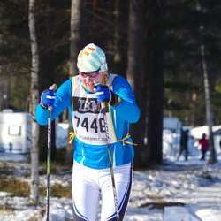 Skiing 90 km - Christer Wiberg (7448)