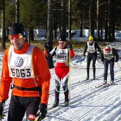 Skiing 90 km - Peter Remneberg (6063), Christer Rönnlund (9893)