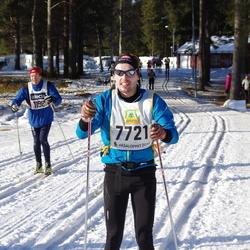 Skiing 90 km - Anders Gredin (7721)