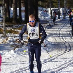 Skiing 90 km - Anders Rinstad (6105)