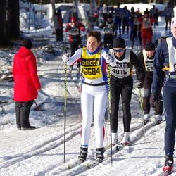 Skiing 90 km - Daniel Jenefeldt (6110), Ingrid Almqvist (16684)