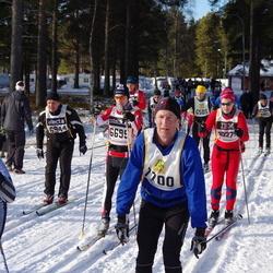 Skiing 90 km - Björn Johansson (6695), Anders Johnson (7143), Niklas Brate (7700)