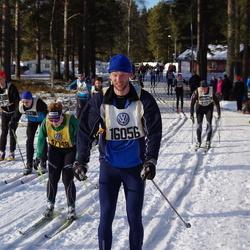 Skiing 90 km - Fredrik Elwinger (16056)