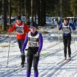 Skiing 90 km - Daniel Wennlund (14880), Katarina Eriksson (16201)