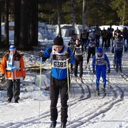 Skiing 90 km - Hugo Jansson (6382)