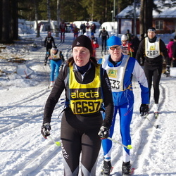 Skiing 90 km - Christina Klingestål (16697)
