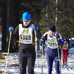 Skiing 90 km - Jan-Olov Lindfors (5225), Andreas Hägg (5369)