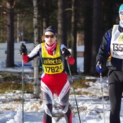 Skiing 90 km - Johan Carlson (13567), Diana Geiger (17824)