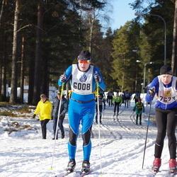 Skiing 90 km - Andreas Tschierschky (6008), Björn Broberg (7673)