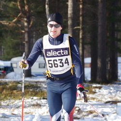 Skiing 90 km - Fredrik Mannerstråle (5634)