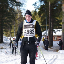 Skiing 90 km - Fredrik Rådström (4982)