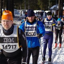 Skiing 90 km - Emil Krøyer (10900), Anders Carlsson (15850)
