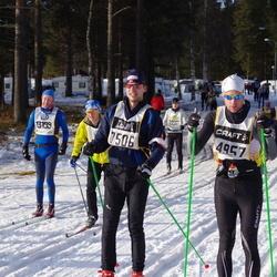 Skiing 90 km - Henrik Rundberg (4957), Geir Holom (7506), Ståle Brendryen (13199)