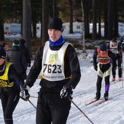 Skiing 90 km - Daniel Berglund (7623)