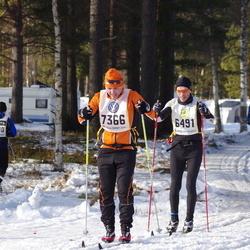 Skiing 90 km - Henrik Semb (6491), Jim Favre (7366)