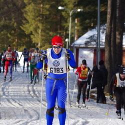Skiing 90 km - Edvin Remb (6183)