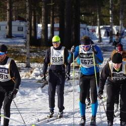 Skiing 90 km - Stefan Permansson (5836), Henrik Björklund (6675), Petter Størseth (10813)