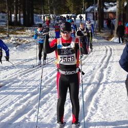 Skiing 90 km - Robert Fogelkvist (7076), Fredrik Lundberg (7568)