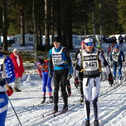 Skiing 90 km - Mattias Algotson (6854), Henrik Nilsson (9461)