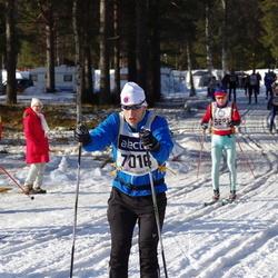 Skiing 90 km - Rolf Österberg (5368), Cenny Flodin Holmström (7016)