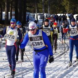 Skiing 90 km - Robert Lundgren (5643), Espen Killingmo (6389), Henry Fröcklin (7710)