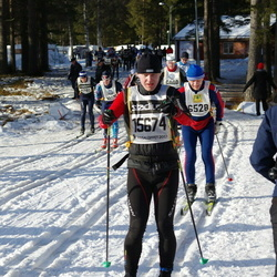 Skiing 90 km - Ales Maslo (15674)