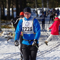 Skiing 90 km - Carl Johan Hedbeck (7223), Anders Gahns (7392)
