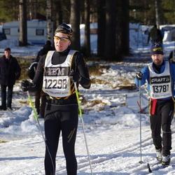 Skiing 90 km - Jon Orvendal (12298), Hugo Börjesson (13781)