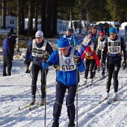 Skiing 90 km - Börje Fjällström (6127), Jens Lindman (6367)